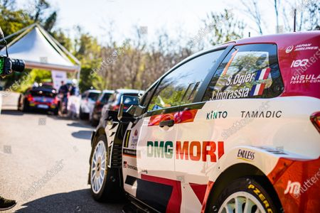 01 Sebastien Ogier (fra), Julien Ingrassia (fra), Toyota Gazoo Racing WRT, Toyota Yaris WRC, ambiance