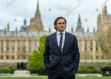 """Stock Photo of Tory MP Johnny Mercer who was """"forced"""" to resign as a defence minister, by number 10, over the treatment of veterans who served in Northern Ireland."""