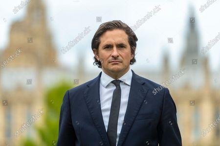 """Stock Image of Tory MP Johnny Mercer who was """"forced"""" to resign as a defence minister, by number 10, over the treatment of veterans who served in Northern Ireland."""