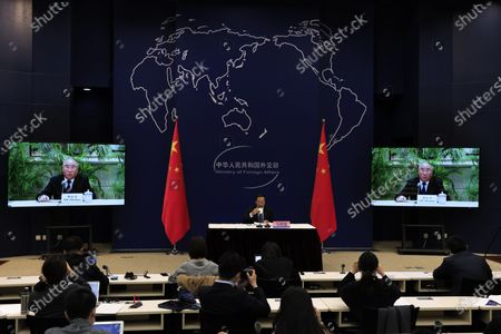 Editorial photo of US Climate Summmit, Beijing, China - 22 Apr 2021