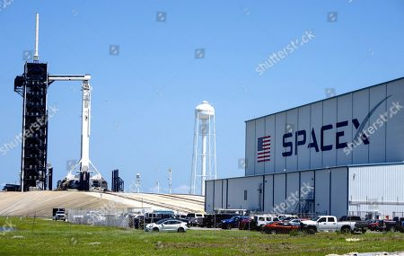 SpaceX Falcon 9 at Kennedy Space Center, Florida