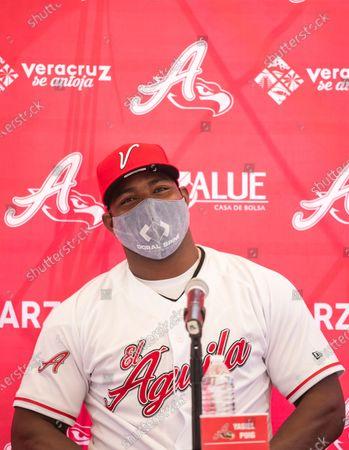 Editorial image of Baseball Puig, Veracruz, Mexico - 22 Apr 2021