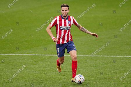 Saul Niguez of Atletico de Madrid