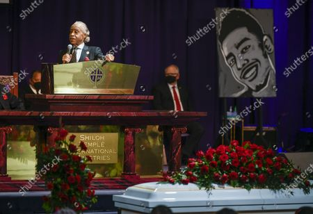 Editorial image of Daunte Wright Funeral, Minneapolis, USA - 22 Apr 2021