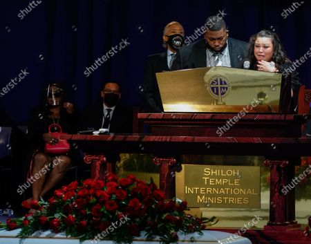 Editorial picture of Funeral of Daunte Wright, Minneapolis, Minnesota, USA - 22 Apr 2021