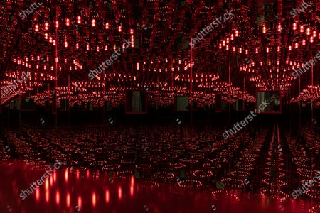 Stock Photo of Yayoi Kusama, one of the world's most important contemporary artists, will open a retrospective at Berlin's Gropius Bau in Germany, the exhibition will take place from 23 April to 15 August 2021 at Gropius Bau Museum in Berlin.