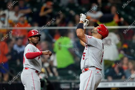 Editorial photo of Angels Astros Baseball, Houston, United States - 22 Apr 2021
