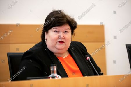 Editorial picture of Politics Special Chamber Commission Covid-19, Brussels, Belgium - 23 Apr 2021