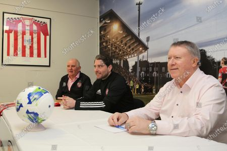 Editorial image of Derry City Announce Ruaidhri Higgins As New Manager - 23 Apr 2021
