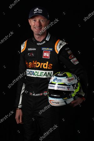 SILVERSTONE CIRCUIT, UNITED KINGDOM - APRIL 21: Gordon Shedden (GBR) - Team Dynamics Honda Civic Type R during the BTCC Silverstone Media Day at Silverstone Circuit on April 21, 2021 in Silverstone Circuit, United Kingdom. (Photo by JEP / LAT Images)