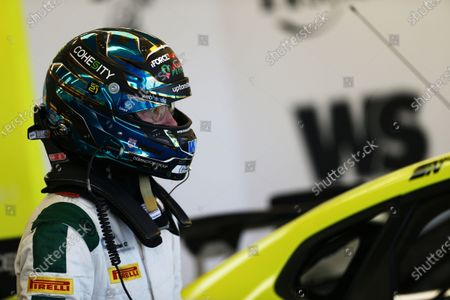 SILVERSTONE CIRCUIT, UNITED KINGDOM - APRIL 22: Rick Parfitt Jr (GBR) - Excelr8 Trade Price Cars Hyundai i30 Fastback N Performance during the BTCC Silverstone Media Day at Silverstone Circuit on April 22, 2021 in Silverstone Circuit, United Kingdom. (Photo by LAT Images)