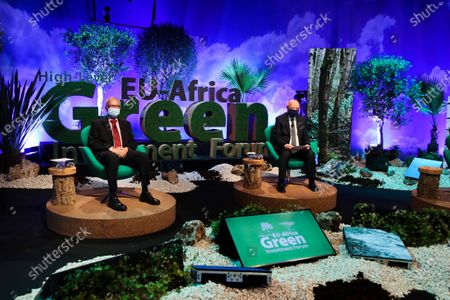 Editorial image of European Union - Africa High Level Green Investment Forum, Lisbon, Portugal - 23 Apr 2021
