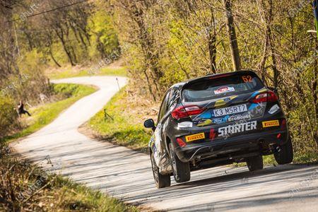 52 Virves Robert (est), Pruul Sander (est), Autosport Team Estonia, Ford Fiesta, action