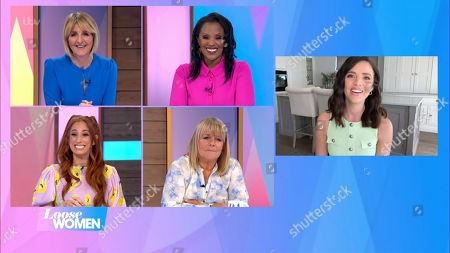 Kaye Adams, Kelle Bryan, Stacey Solomon, Linda Robson and Lucy Mecklenburgh