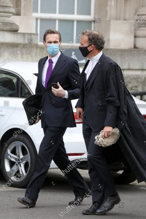 Stock Picture of Dr Christian Jessen arrives at Belfast High Court today