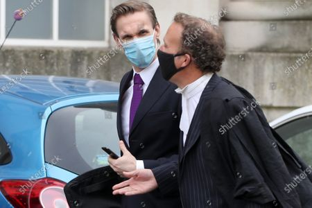 Stock Photo of Dr Christian Jessen arrives at Belfast High Court today