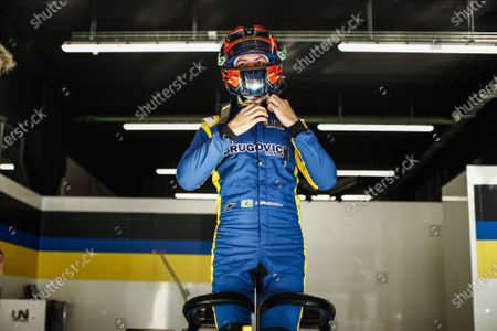 Felipe Drugovich from Brasil of UNI - Virtuosi Racing, portrait during Day One of FIA Formula 2 Testing at Circuit de Barcelona - Catalunya on April 23, 2021 in Montmelo, Spain.