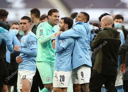 Editorial image of Manchester City v Tottenham Hotspur, Carabao Cup, Final, Football, Wembley Stadium, London, UK - 25 Apr 2021