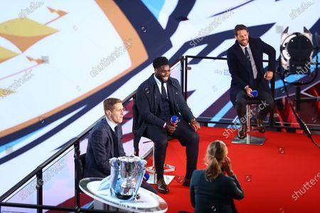 Michael Dawson, Micah Richards & Jamie Rednapp - Sky Sports