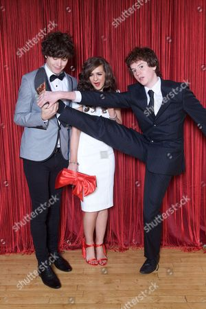 Tom Kane, Rebecca Ryan and Nicholas Woodman