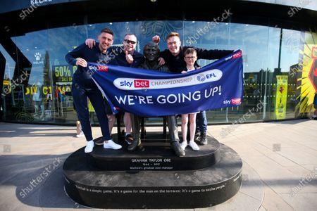 Editorial picture of Watford v Millwall, EFL Sky Bet Championship, Football, Vicarage Road, Watford, UK - 24 Apr 2021
