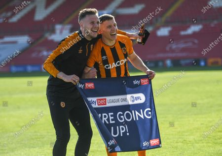Editorial photo of Lincoln City v Hull City, EFL Sky Bet League One, Football, The LNER Stadium, Lincoln, UK - 24 Apr 2021