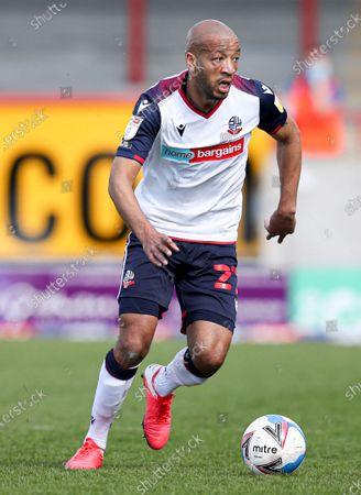 Alex John-Baptiste of Bolton Wanderers