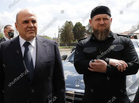 Editorial picture of Russian Prime Minister Mikhail Mishustin visits the Chechen republic, Grozny, Russian Federation - 23 Apr 2021