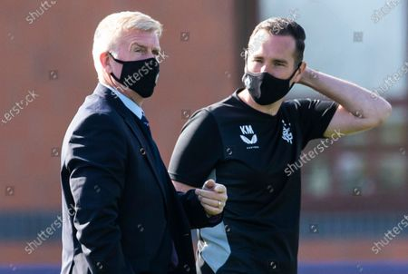 Editorial image of Rangers WFC v Forfar Farmington, Scottish Women's Premier League 1, Football, The Rangers Training Centre, Glasgow, Scotland, UK - 25 Apr 2021