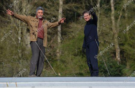 Editorial photo of 'Mission Impossible 7 - Libra' on set filming, Levisham, North Yorkshire, UK - 23 Apr 2021