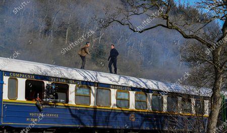 Editorial image of 'Mission Impossible 7 - Libra' on set filming, Levisham, North Yorkshire, UK - 23 Apr 2021