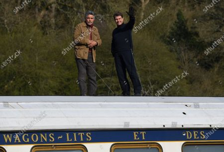 Editorial picture of 'Mission Impossible 7 - Libra' on set filming, Levisham, North Yorkshire, UK - 23 Apr 2021