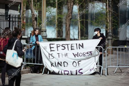 Editorial picture of Jeffrey Epstein Associate, New York, United States - 23 Apr 2021