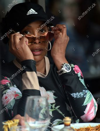 Editorial photo of Exclusive - Vivica A Fox out and about, Beverly Hills, USA - 23 Apr 2021