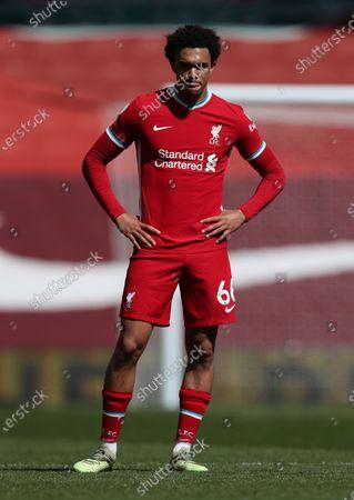 Trent Alexander-Arnold of Liverpool; Anfield, Liverpool, Merseyside, England; English Premier League Football, Liverpool versus Newcastle United.