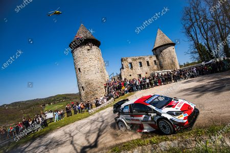 01 Sebastien Ogier (fra), Julien Ingrassia (fra), Toyota Gazoo Racing WRT, Toyota Yaris WRC, action