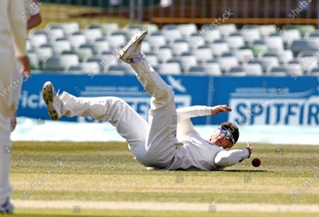 Editorial image of Kent CCC vs Lancashire CCC, LV Insurance County Championship Group 3, Cricket, The Spitfire Ground, Canterbury, Kent, United Kingdom - 24 Apr 2021