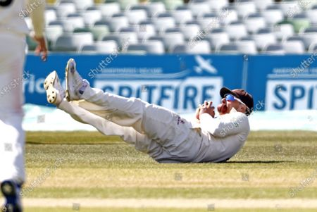 Editorial picture of Kent CCC vs Lancashire CCC, LV Insurance County Championship Group 3, Cricket, The Spitfire Ground, Canterbury, Kent, United Kingdom - 24 Apr 2021