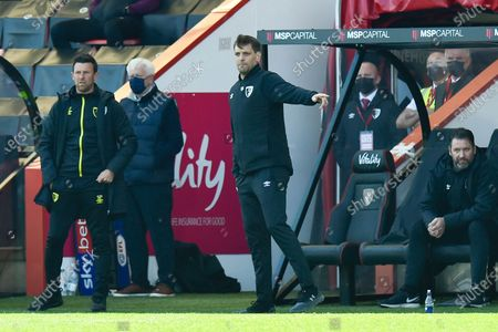 Editorial picture of Bournemouth v Brentford, EFL Sky Bet Championship - 24 Apr 2021