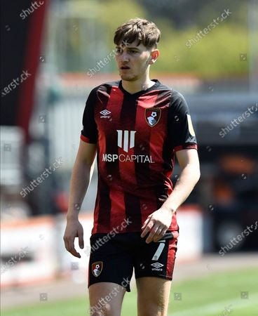 David Brooks (7) of AFC Bournemouth during the EFL Sky Bet Championship match between Bournemouth and Brentford at the Vitality Stadium, Bournemouth