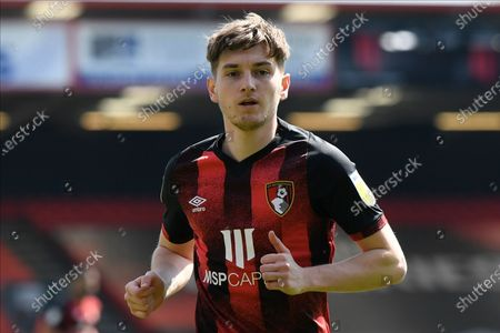 Stock Photo of David Brooks (7) of AFC Bournemouth during the EFL Sky Bet Championship match between Bournemouth and Brentford at the Vitality Stadium, Bournemouth