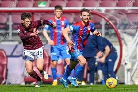 Editorial photo of Heart of Midlothian v Inverness CT, SPFL Championship - 24 Apr 2021