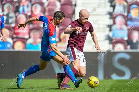 Editorial picture of Heart of Midlothian v Inverness CT, SPFL Championship - 24 Apr 2021