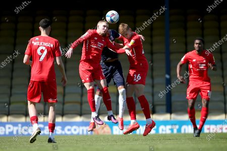 Editorial photo of Southend United vs Leyton Orient, Sky Bet EFL League 2, Football, Roots Hall, Southend, Essex, United Kingdom - 24 Apr 2021