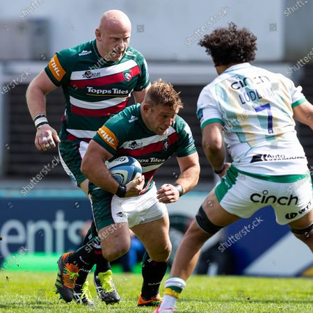 Editorial image of Leicester Tigers v Northampton Saints, Gallagher Premiership, Rugby Union, Welford Road, Leicester, UK - 24 Apr 2021