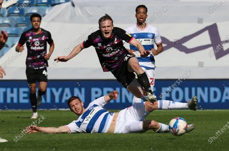 Editorial image of Queens Park Rangers vs Norwich City, Sky Bet EFL Championship, Football, The Kiyan Prince Foundation Stadium, London, Greater London, United Kingdom - 24 Apr 2021