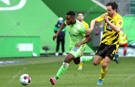 Editorial image of VfL Wolfsburg vs Borussia Dortmund, Germany - 24 Apr 2021