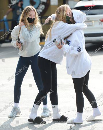 Alexis Ren, Maddie Ziegler and Mackenzie Ziegler