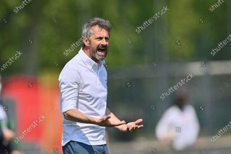 Maurizio Ganz (Head Coach AC Milan) during the Italian Cup semifinals second leg match between AC Milan and FC Internazionale at Vismara sports center (Milan), Italy