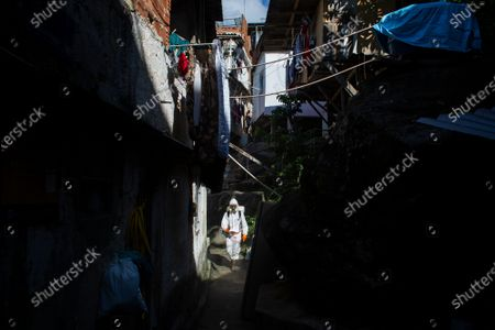 Editorial photo of Virus Outbreak , Rio De Janeiro, Brazil - 24 Apr 2021